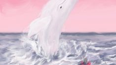 The boy and the whale . Whale Jumping . . 영혼을 갈아 넣는 중..🍷 . . . (BGM은 아직 저작권 허가를 못받아서ㅠ) . #일러스트레이터#후디#고래#일러스트#일러스트레이션#드로잉#손그림#낙서#감성#동화#캐릭터디자인#모션그래픽#illust#illustration#illustrate#whale#drawing#instart#painting#doodle#artwork#art#digitalpainting#design#characterdesign#colorful#illustrator#graphicdesign#digitalart#motiongraphics