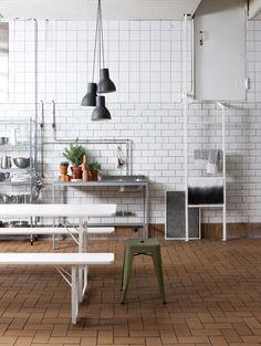 Industrial Kitchen, styling Susanna Vento for Deko