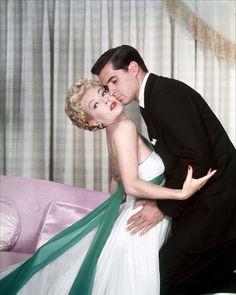 IMITATION OF LIFE (1959) - Lana Turner & John Gavin - Produced by Ross Hunter - Universal-International - Publicity Still.