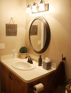 oval bathroom mirrors oil rubbed bronze - Oval Bathroom Mirrors