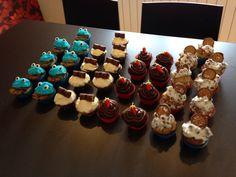 My Cupcake army