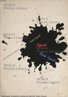 Bayer, Herbert (1900-1985) Signal, H. Berthold AG Berlin, Probe Nr. 276, 1929