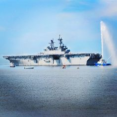 The future amphibious assault ship USS America is on its way to San Francisco! It departed from Pascagoula, Mississippi last month and will be transiting the U.S. Southern Command area of responsibility on its way to San Francisco for a scheduled commissioning ceremony Oct. 11. #Navy #USNavy #AmericasNavy navy.com