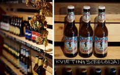 """Beer boutique """"Špunka"""".  http://spunkalt.tumblr.com/post/33836016754/nauja-alaus-ir-giros-krautuve-spunka-pajuryje"""