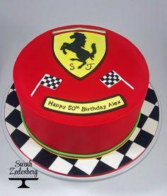 Ferrari Cake. Sarah Zeelenberg Cake Design More