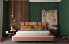 Interior and furniture design project Tailored and designed especially for you. check our upcoming… Modern Bedroom Design, Bed Design, Furniture Styles, Furniture Design, Bedroom Furniture, Bedroom Decor, Studio Interior, Interior Design, Bedroom Orange