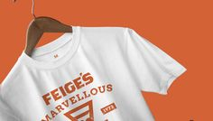 Feige's Pizza www.feigespizza.com #Branding #T-Shirt #Design #Icon #Graphic #Marvellous