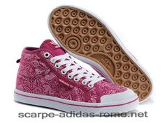 new style 5d879 fdbcc Donna Rosa Adidas Originals Honey Mid W Print Casual Scarpe G63047 (Adidas  Running)