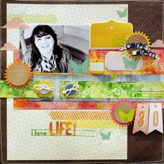 layout by Celine Navarro featuring our Classic Calico line