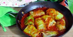 Recipe: Mushroom-Stuffed Cabbage Rolls