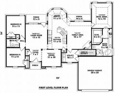 Love this floor plan move living room leave open area in kitchen as living.
