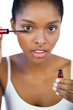 13. Warm your mascara in your bra before applying it.
