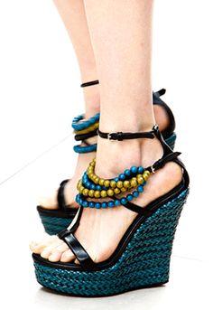 artesanía en los pies