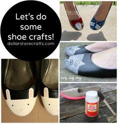 10 Sassy Shoe Crafts