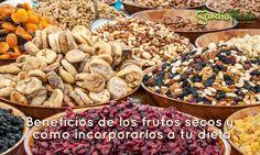 Beneficios de los frutos secos y cómo incorporarlos a tu dieta