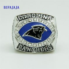 Now available in our store  2003 Carolina Pan... Check it out here! http://championshipringsandmore.com/products/2003-carolina-panthers-nfc-championship-replica-ring-custom-jewelry-size-big-11-men?utm_campaign=social_autopilot&utm_source=pin&utm_medium=pin