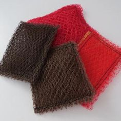Making scrubbies is a fast and easy way to recycle and save money.data-pin-do=