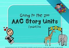 This interactive AAC story unit was designed to provide fun, thematic activities to stimulate language development and interaction for AAC communicators. The product makes use of SymbolStix symbols, which are found on many of the popular AAC iPad apps. Homework Sheet, Speech Therapy Activities, Language Development, Speech And Language, Teacher Newsletter, Teacher Pay Teachers, Communication Boards, The Unit, Teaching