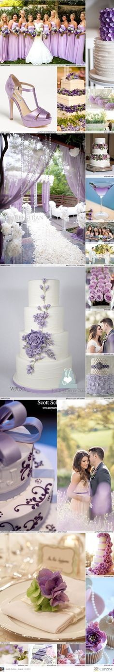 Lavender Weddings. Because I love anything in shades of purple.