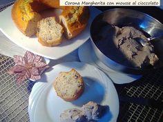 Corona++Margherita+con+mousse+al+cioccolato
