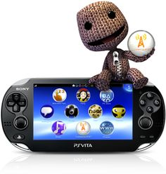 The new PS Vita!!! Waaaant!!! I could hand me down my PSP GO to my hubby. <3<3