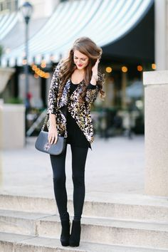 Southern Curls & Pearls: New Year's Eve Outfit Inspo...