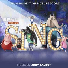 Jody Talbot - Sing (original Soundtrack) [New CD] Digipack Packaging Tous Les Disney, Sing Movie, League Of Gentlemen, Little Dorrit, Singing Competitions, Dreamworks Movies, Film Score, Blockbuster Movies, Display