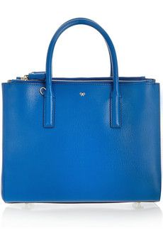 Anya Hindmarch Ebury textured-leather tote | NET-A-PORTER