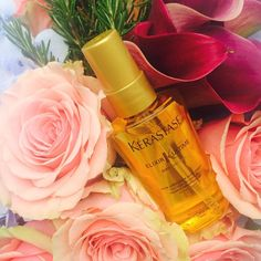 Two things that make us happy: Beautiful flowers and Elixir Ultime!