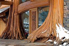 Gorgeous custom log home