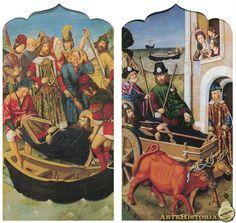 Traslado del cuerpo del apostol Santiago - Obra - ARTEHISTORIA V2
