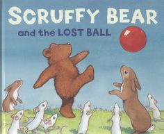 Staines Library Bear's #favebook is all about his idol, Scruffy Bear.