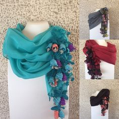 Istanbul, Ruffle Blouse, Tops, Women, Fashion, Mittens, Squares, How To Knit, Scarves