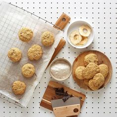 Glutenfrie Cookies - Det Glutenfrie Verksted No Bake Cake, Cereal, Cookies, Breakfast, Cake Baking, Recipes, Food, Breakfast Cafe, Biscuits