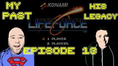 My Past His Legacy Episode 13 Life Force - NES - Isaiah Tries The Konami...