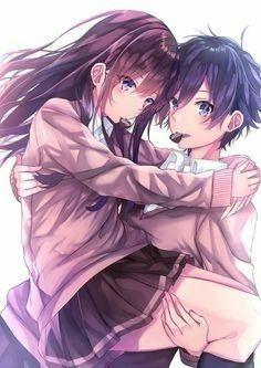 Pin Di Adorable Anime Couples