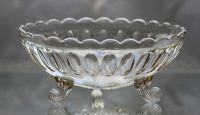 Kompottskål modell Kora, 1899-1933. Ustemplet. Høvik - www.norskt-glass.com Punch Bowls, Glass, Home Decor, Scale Model, Decoration Home, Drinkware, Room Decor, Corning Glass, Interior Decorating
