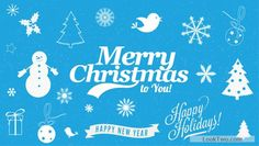 Merry christmas vectors free vector download
