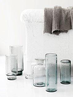 Glass inspiration #muniohome #glassware designs #tableware