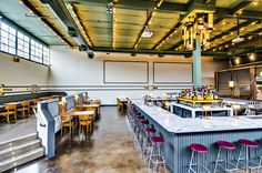 Things to do this summer: become a hipser and watch/dine at Syndicated in Brooklyn