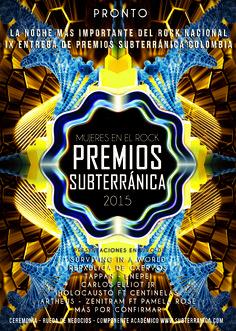 Premios Subterránica Colombia 2015