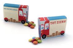 Traktatie Verhuis/Vrachtwagen - op school - traktatie