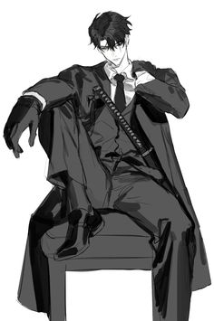 Wadako666 (@Kinny4646) 的媒体推文 / Twitter Dark Anime Guys, Cool Anime Guys, Handsome Anime Guys, Hot Anime Boy, Black Hair Anime Guy, Anime Boy Hair, Anime Boys, Character Design Animation, Character Art