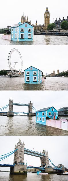 There's a floating house on the Thames, and you can go and stay in it! Find out how here.