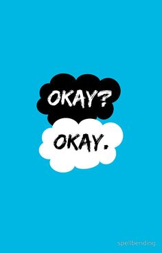 """Okay? Okay. The Fault in Our Stars"" Greeting Cards & Postcards by spellbending 