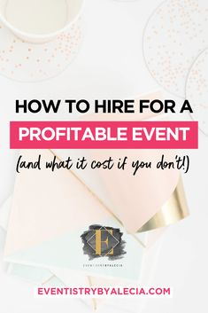 An event is only as good and as profitable as those you hire to direct, design, and strategize it. Unfortunately, many entrepreneurs have tried and fail to cut-corners by hosting their event solo. Ultimately, this leads to DIY disaster and thousands of dollars lost. But none of that has to happen when you know how to hire for an event. #event