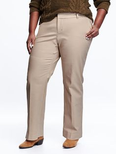 Smooth & Slim Plus-Size Pants Product Image