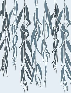 Weeping Willow Stencil