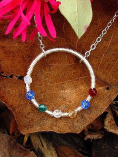 birthstone necklace...perfect for moms and grandmothers!