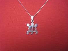 Adinkra Crocodile Necklace - Sterling Silver 925 - Our Talking Hands - Supporting the Deaf in Ghana